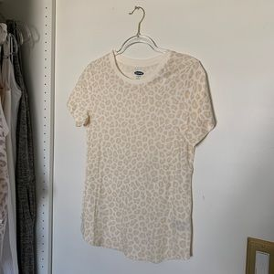 Old Navy Tops - Old Navy Leopard Print T-Shirt